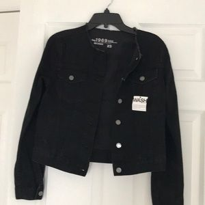 Gap  Black denim jacket